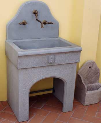 A nannini fiesole lavorazione pietre e marmi lavello for Acquaio cucina