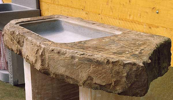 A. Nannini - Fiesole - Lavorazione marmi: Acquaio